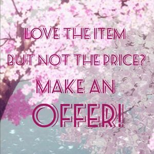 Other - Make me an offer💝